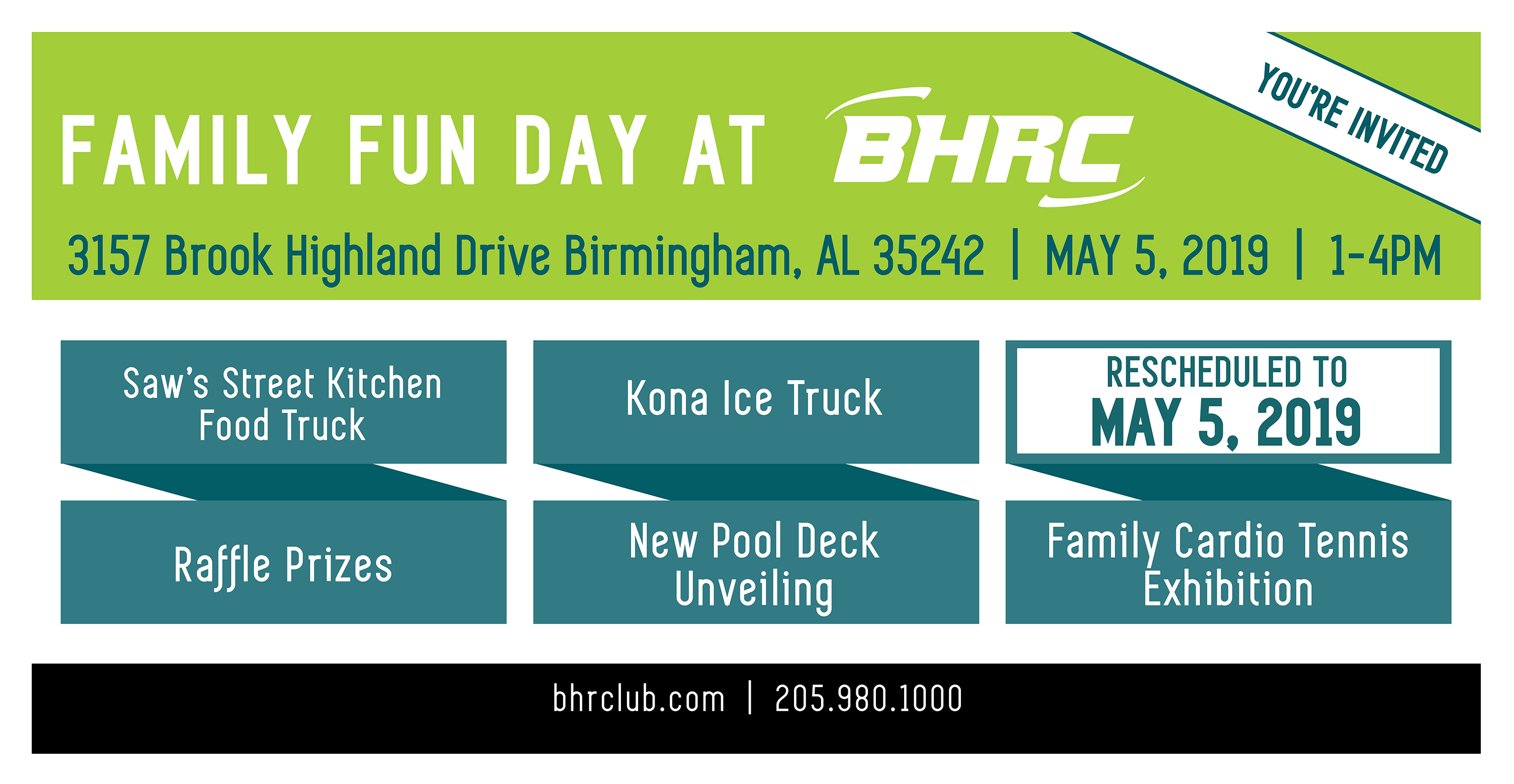 rescheduled BHRC Family Fun Night 5.5.19 fb Event Banner